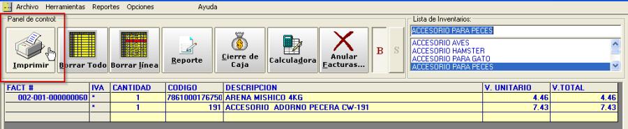 Sistema de facturacion quito ecuador